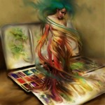 PaintPaletteWoman